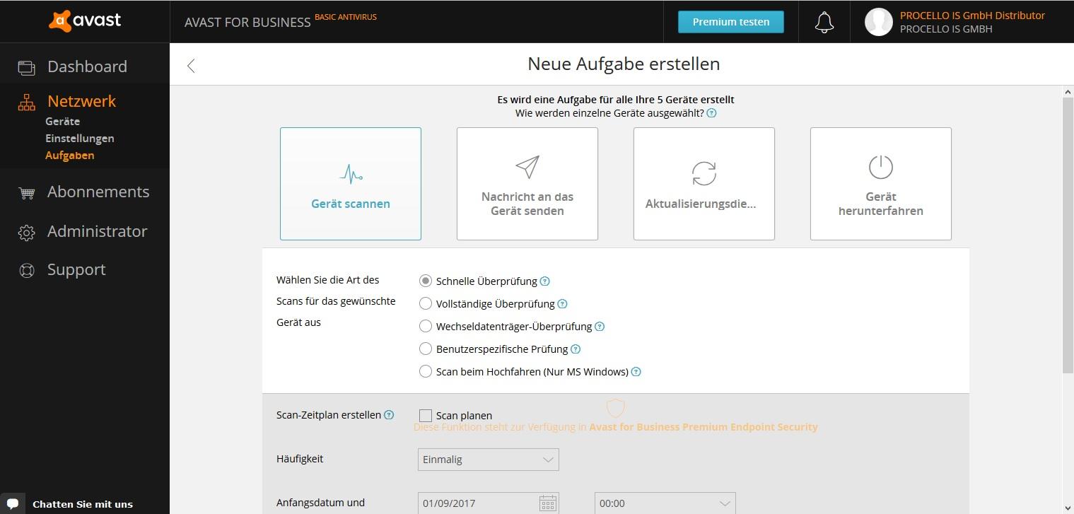 Avast für Unternehmen - Antivirus for Business | AVADAS GmbH